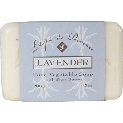 Amazon.com: LEpi de Provence Triple Milled Lavender Soap by LEpi de Provence: Health & Personal Care