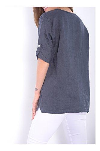 Camisa colores Italia Transici moda Nueva Varios en superior Mujer Ig019 Hecho Abbino 8wnxqrYO8