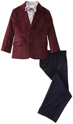 Boys Red Corduroy Pants (Nautica Little Boys' Fine Wale Corduroy Suit Set,)