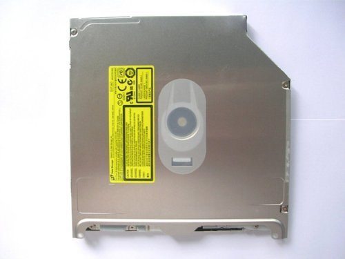 GS41N Superdrive 8X Slot-in DVD±RW Slim SATA Drive 9.5mm DVD Burner drive for Apple MacBook / Macbook Pro A1181 A1286 A1278 UJ8A8 Replace GS31N UJ868A, UJ898A, AD-5970H