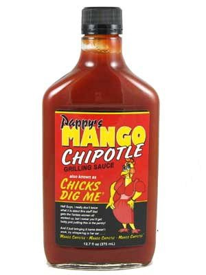 (Pappy's Chicks Dig Me Mango Chipotle Grilling Sauce)
