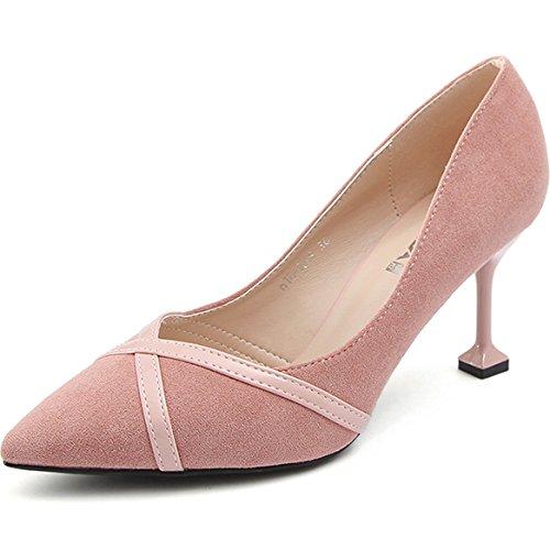Las Los Primavera Con Zapatos Verano nico Tacn Rosa Alto Gaolim Mujeres La Punta De Fina XadqwXUf