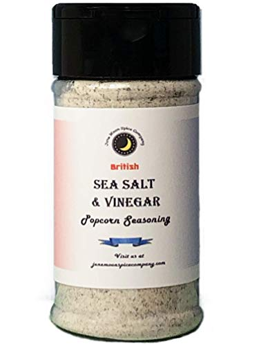 PREMIUM | Popcorn Seasoning | Variety 7 Pack | Sea Salt & Vinegar | Butter | Smoked Parmesan | Cinnamon Sugar | Cilantro Lemon | Tex Mex | White Cheddar | 3.5 fl. oz. by June Moon Spice Company (Image #1)
