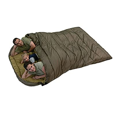 TETON Sports Mammoth Queen Size Sleeping Bag rating