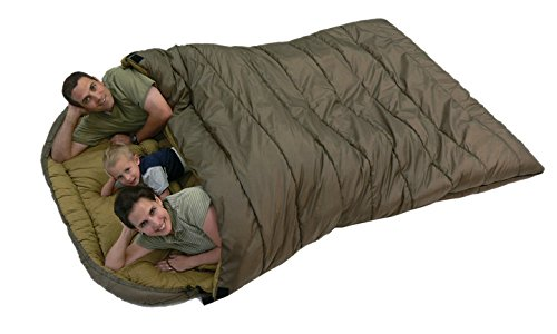 +20F Queen Size Sleeping Bag - Perfect for Camping