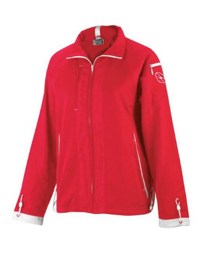 Women's Roma Jacket - Adult Small, Red/White