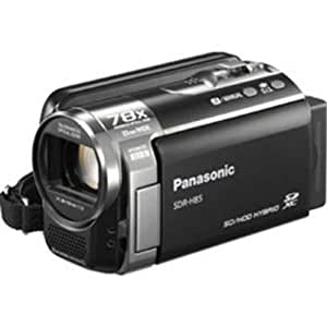 Panasonic SDR-H85K Std-Def Camcorder with 78X Zoom & 80GB HDD (Black)