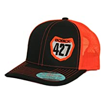 JUST RIDE Snapback Mesh Hat Custom Personalized Motocross Number Plate KTM