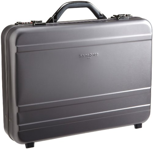 (Samsonite Luggage Delegate II Attache Computer Bag (4-Inch, Charcoal))