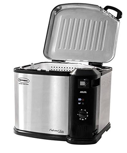 Masterbuilt 23011114 Butterball Indoor Gen III Electric Fryer Cooker image