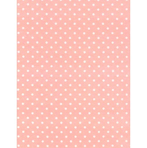Timeless Treasures Fabrics Polka Dot Cotton Flannel Sweet Pink Dot