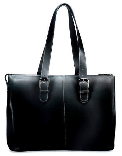 Jack Georges Milano Madison Avenue Tote, Black by Jack Georges