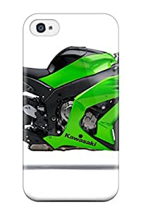 7607617K11293141 Fashion Tpu Case For Iphone 4/4s- Ninja Motorcycle Defender Case Cover