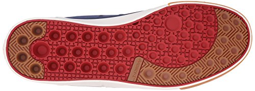 Dc Heren Evan Smith Hi Skateboarden Schoen Marine / Rood