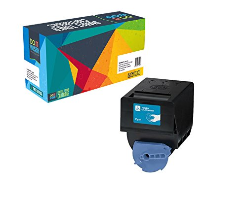 Do it Wiser Compatible Toner Cartridge Replacement for Canon GPR-23 ImageRunner C2880 C2550 C2550i C2880i C3080 C3080i C3380 C3380i C3480 C3480i C3580 C3580i Cyan