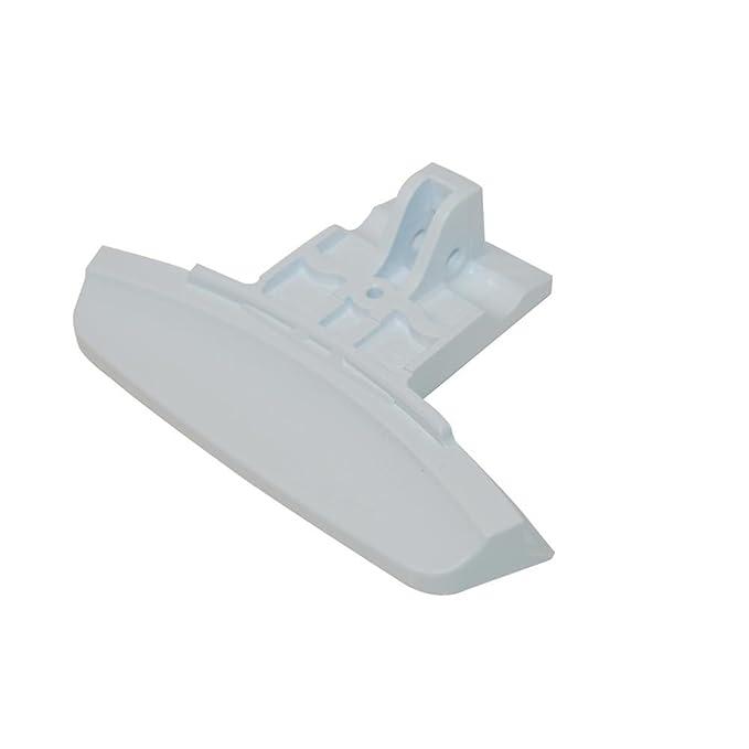 Genuine INDESIT Lavadora Blanco manija de puerta C00141704 ...