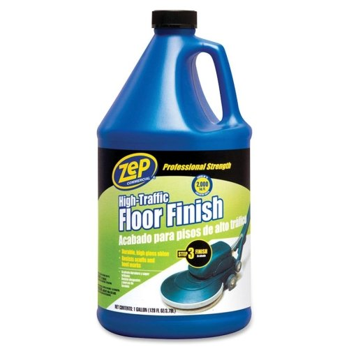 Zep Inc. Commercial High Traffic Floor Finish-Floor Finish, Commercial High Traffic, 1Gallon
