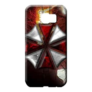 samsung galaxy s6 edge case Scratch-proof stylish cell phone carrying shells Resident Evil