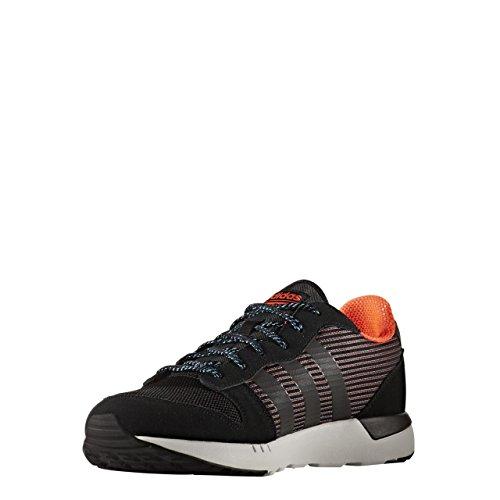 adidas CLOUDFOAM CITY RACER - Zapatillas deportivas para Hombre, Negro - (NEGBAS/NEGBAS/ROJSOL) 39 1/3