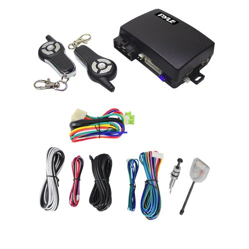 Pyle PWD603RS 4-Button Remote Start/Door Lock Vehicle Security System