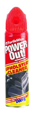 Turtle Wax T-246 Upholstery Cleaner, 22 ounces Brush Top -