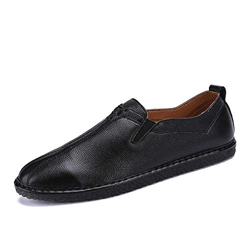 con 42 pelle Business un Dimensione all'abrasione EU traspirante leggero Casual pedale Oxford Nero uomo Resistente amp;Baby in da Nero morbida Color Sunny Lofer PH5zwRqq