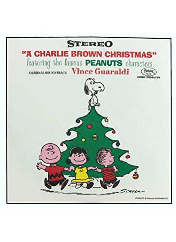 """A Charlie Brown Christmas"" Peanuts Original Soundtrack 3"" Blind Box 4-Pack"