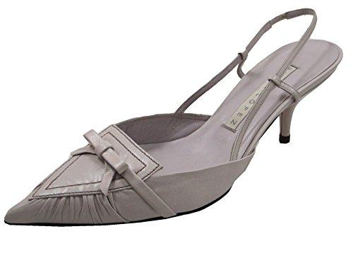 Pura Dress Women's Heel Lopez Shoes Lilac 343 Toe Casual Closed Leather Summer Low IHxqIwrOFB