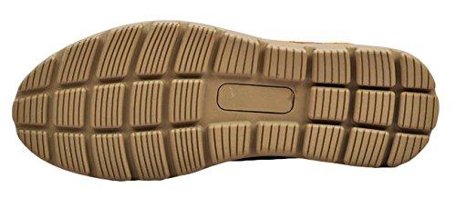 Serene Mens Classic Suede Walking Fashion Sneakers(9 D(M)US, LightBrown)