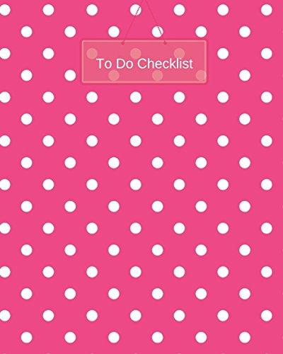 To Do Checklist (To Do Notebook)