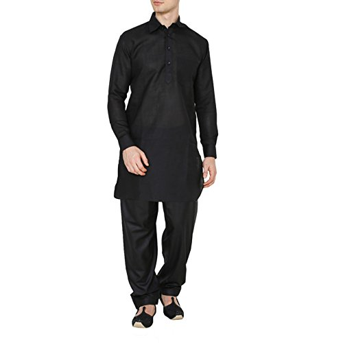 Royal Cotton Linen Traditional Wear Pathani Suit Mens Designer Kurta Pajama Dress