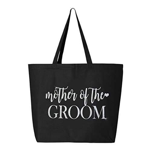 Mother of the Groom Tote Bag - Black and Glitter ()
