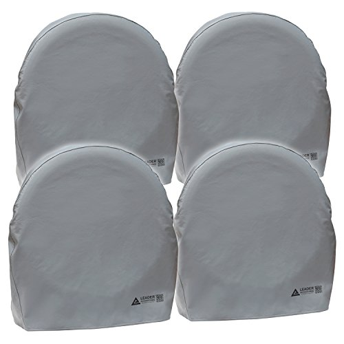 32in Tire - Leader Accessories 4pcs RV Tire/ Wheel Covers Camper Car Trailer Truck Fits (32