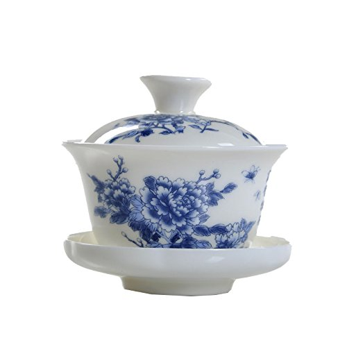 ufengke®Hand Painted Blue Flower Fine J - Hand Painted Porcelain Teacup Shopping Results