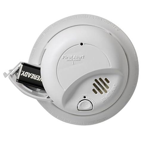 First Alert SA9120BCN 120V AC Hardwired Smoke Alarm - Photoelectric Ionization Smoke Detectors