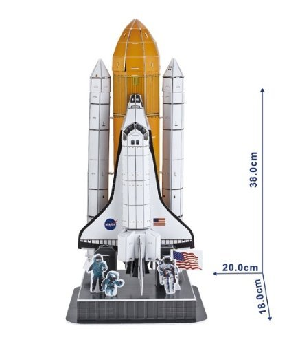 Space Shuttle Discovery 3D Puzzle, 87 Pieces | 11street ...