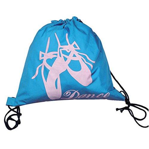 George Jimmy Kids Dance Bags Travel Backpack School Bags Girls Backpacks Dancing Bag Blue by George Jimmy