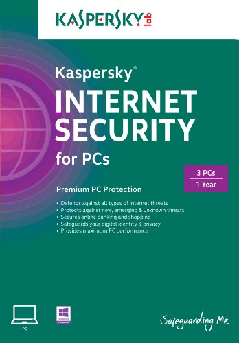Kaspersky Internet Security 2015 3 User, 1 Year [Online Code]