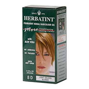 Amazon.com: Herbatint 8d Herbal Light dorado Blonde ...