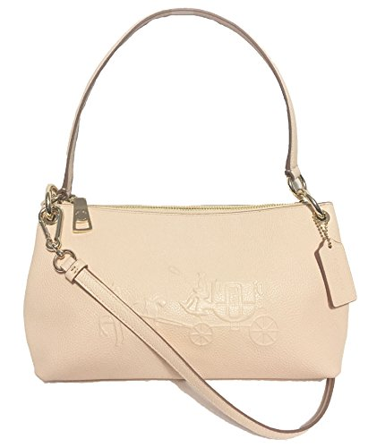 Coach 33521 Embossed Carriage Crossbody