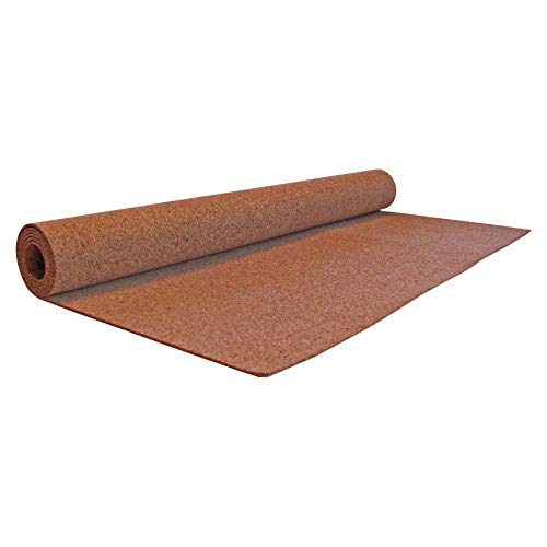 Flipside FLP38001 Cork Roll, 4' x 8', 3mm Thick, Natural Cork, Light Brown