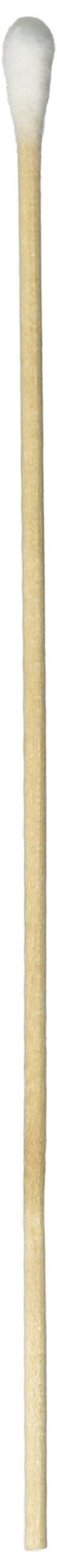 Premiere 95-8702 Wood Cotton Tipped Applicator, Non-Sterile, 6'' Wood Stem (Case of 10000)