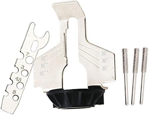 Kettensägenschärfaufsatz Kettensäge Zahnschleifwerkzeuge für Elektroschleifer High Speed Stahl
