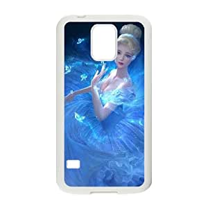 Cinderella Samsung Galaxy S5 Cell Phone Case White WON6189218995613