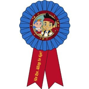 Jake & the Never Land Pirates Guest of Honor Ribbon / Favor (1ct) ()