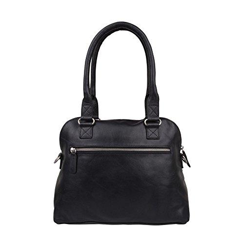 COWBOYSBAG Damen Tasche Henkeltasche Bag Carfin Black 1645