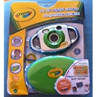 Crayola 2.1MP Digital Camera - Purple/Silver (26070)