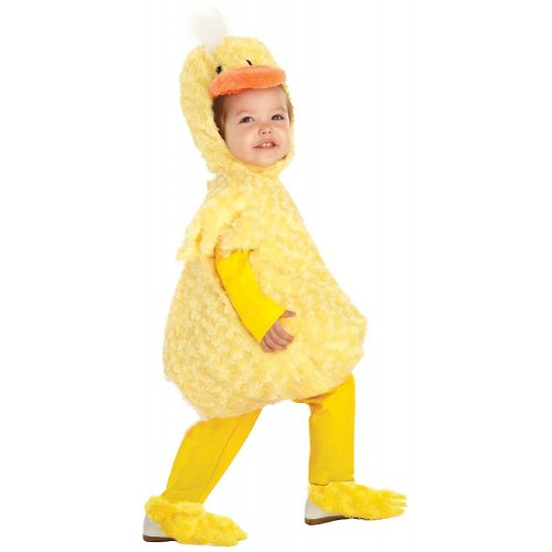 Underwraps Kid's Underwraps Baby's Duck Costume, Large Childrens Costume, yellow, (Underwraps Costume)
