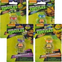 3d de las Tortugas Ninja borrador - 4 asstd.: Amazon.es ...