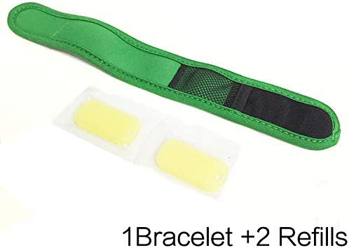 Losuya Mosquito Repellent Bracelet Wristband Ankle Band Bracelets with 2pcs Repellent Refills for Adult Children